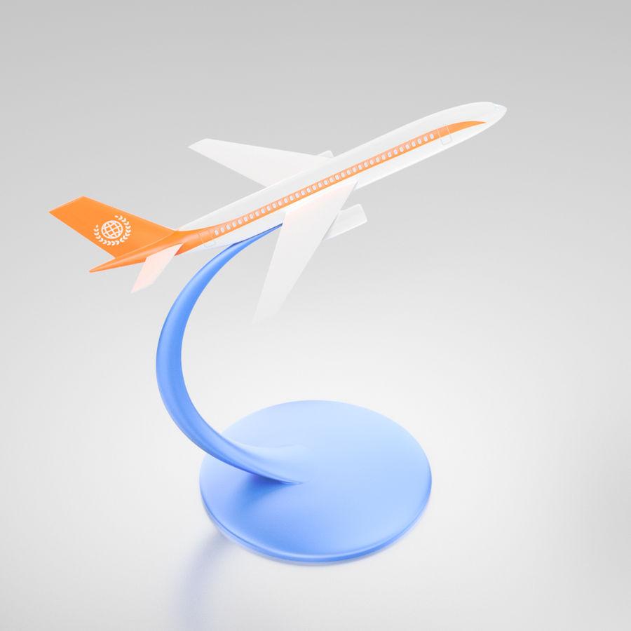 Modelo de mesa de um avião a jato royalty-free 3d model - Preview no. 1