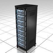 コンピューターサーバーラック 3d model