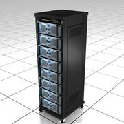 Computer Server Rack 3d model