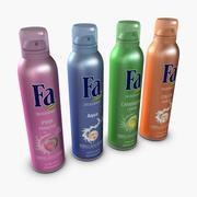 Fa Spray dezodorant 3d model