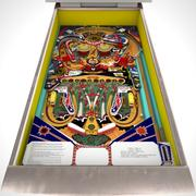 Low Poly Pinball: Kunstflug 3d model