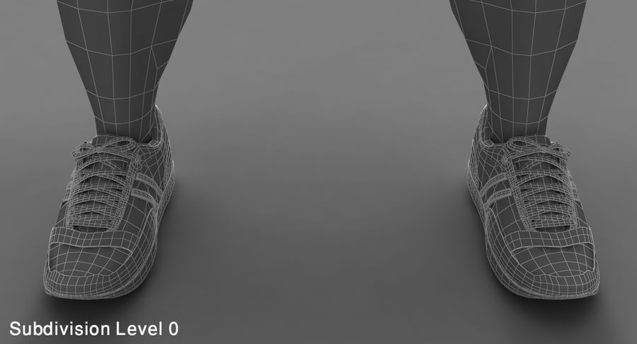 Athlète royalty-free 3d model - Preview no. 13
