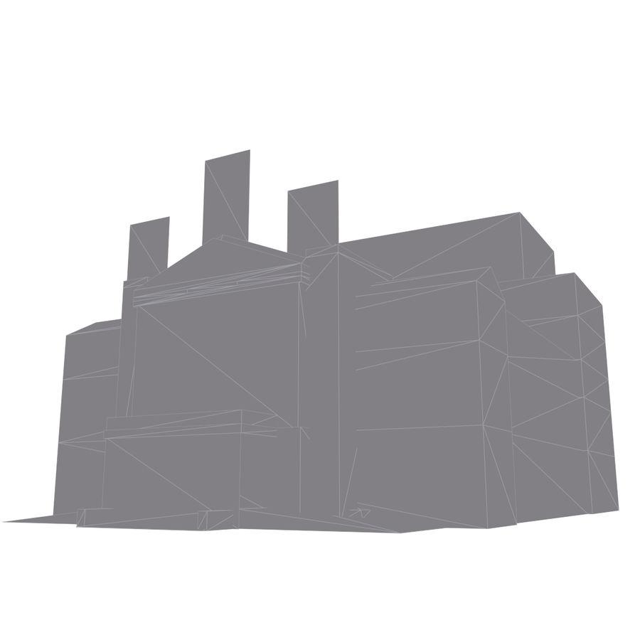 Die Staatsoper Prag royalty-free 3d model - Preview no. 8