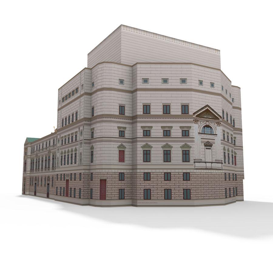 Die Staatsoper Prag royalty-free 3d model - Preview no. 5