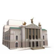 Die Staatsoper Prag 3d model