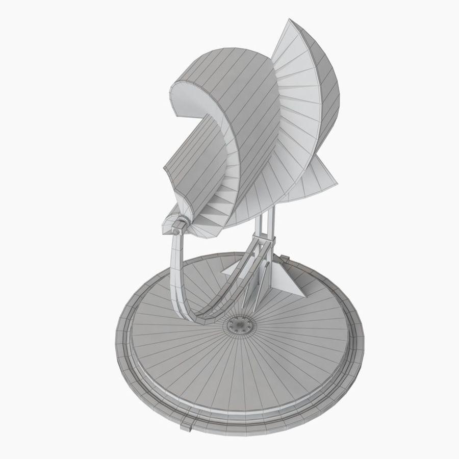 Анимированный генератор электричества ротора Онипко royalty-free 3d model - Preview no. 13