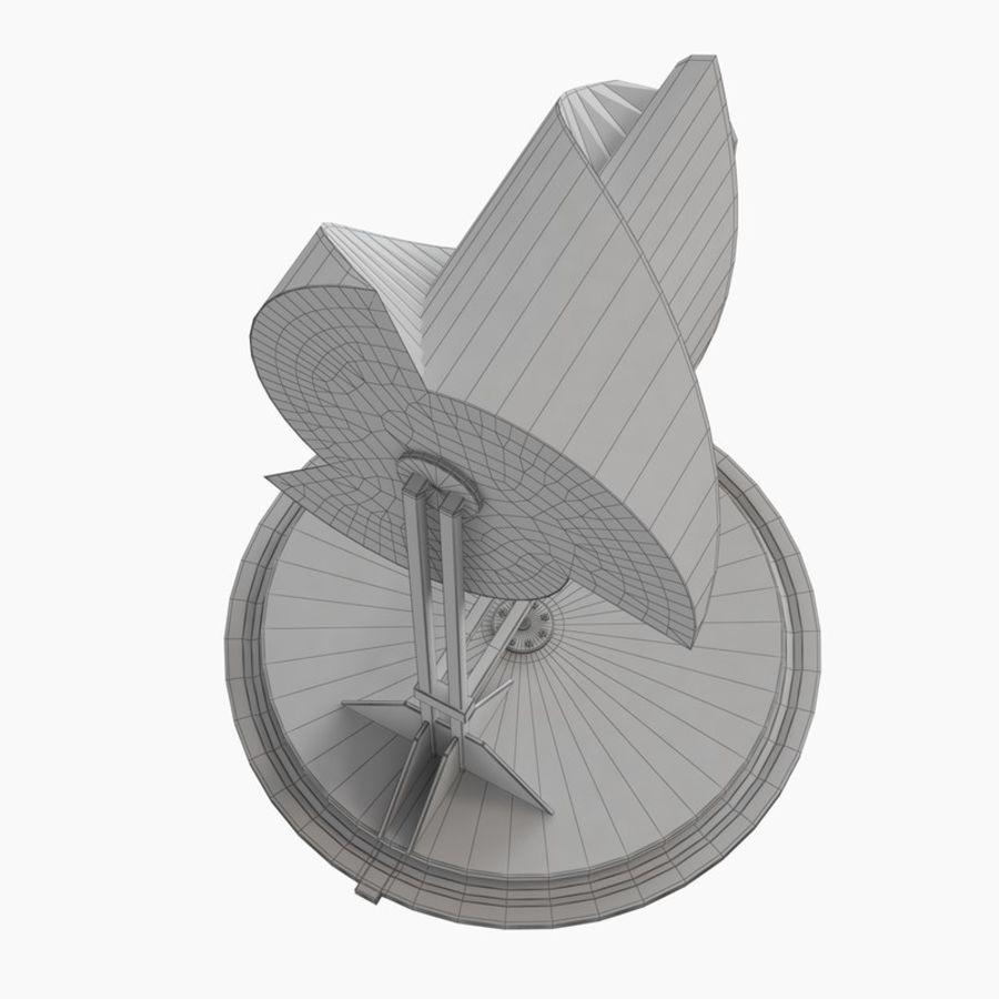 Анимированный генератор электричества ротора Онипко royalty-free 3d model - Preview no. 17