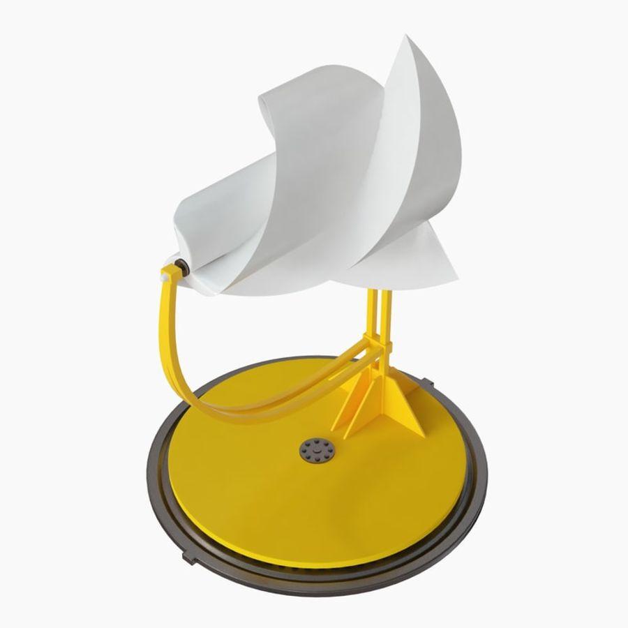 Generatore di elettricità del rotore di Onipko animato royalty-free 3d model - Preview no. 6