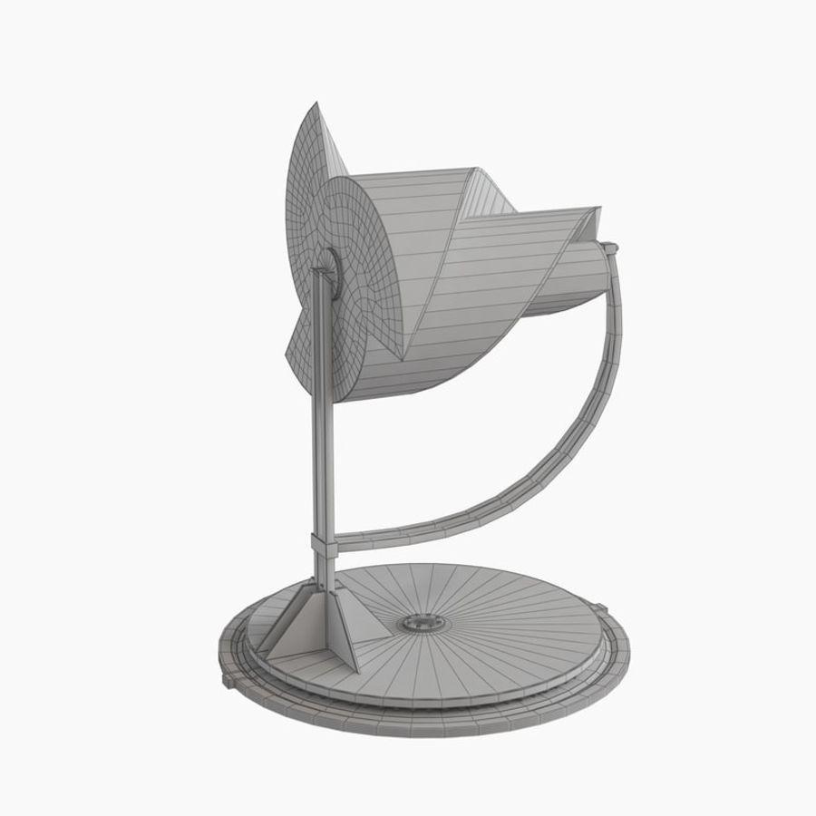 Анимированный генератор электричества ротора Онипко royalty-free 3d model - Preview no. 16