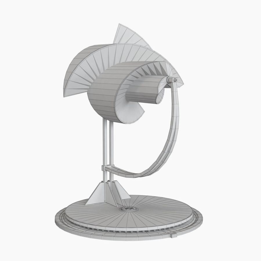 Анимированный генератор электричества ротора Онипко royalty-free 3d model - Preview no. 10