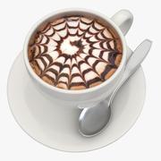 Varm chokladmjölk 4 3d model