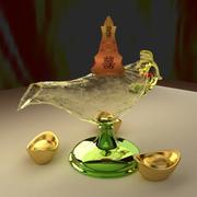 Kinesisk magisk lampa 3d model