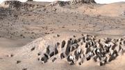 Krajobraz Marsa 3d model