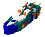 Bull gaiter - Modalità Flying 3d model