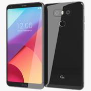 LG G6 Astro Black 3d model
