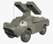 Gaskin 9K31 Strela Rocket Vehicle modelo 3d