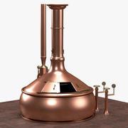 ビール沸騰キットル 3d model