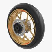 Sport Moto Wheel Wheel Modèle 3D 3d model