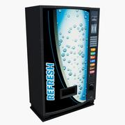 Drinks Vending Machine 3d model