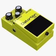 Pedał Distortion Boss DS-1 3d model