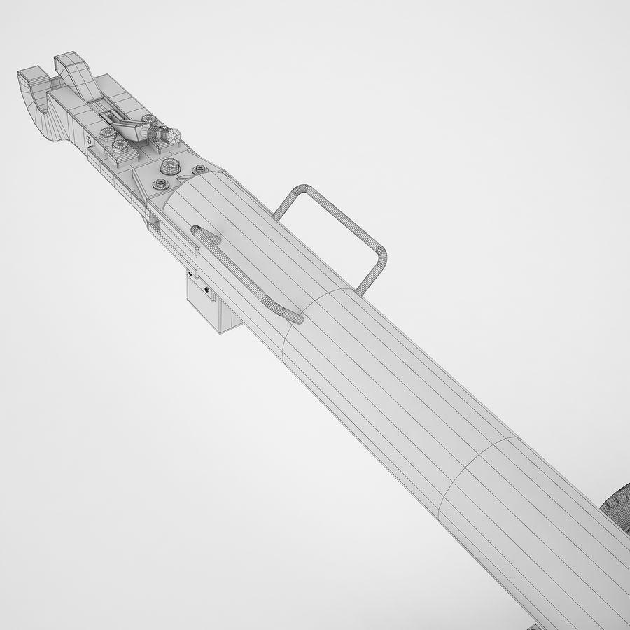 航空機牽引バー02 royalty-free 3d model - Preview no. 22