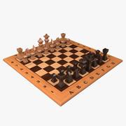 チェスtable3 3d model