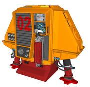 Huey 3d model