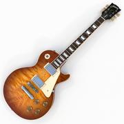 Gibson Les Paul Traditional 2016 T ( Honey Burst ) 3d model