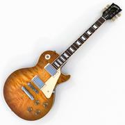 Gibson Les Paul Traditional 2016 T ( Light Burst ) 3d model