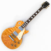 Gibson Les Paul Traditional 2016 T ( Natural ) 3d model