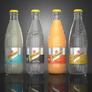 Schweppes 4 flavours 3d model