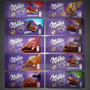 Chocolate Milka 3d model
