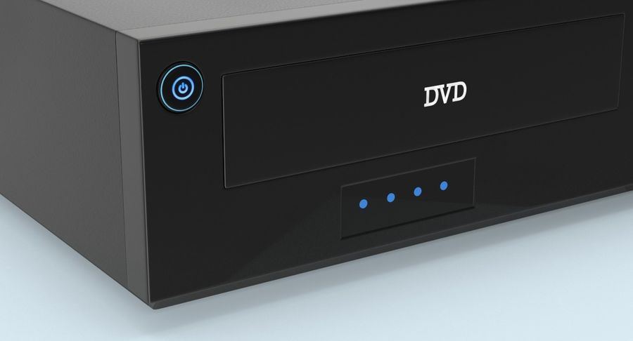 VCR royalty-free 3d model - Preview no. 10