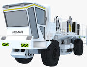 Camion vibratore sismico 3d model