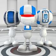 Robot Team V2 3d model