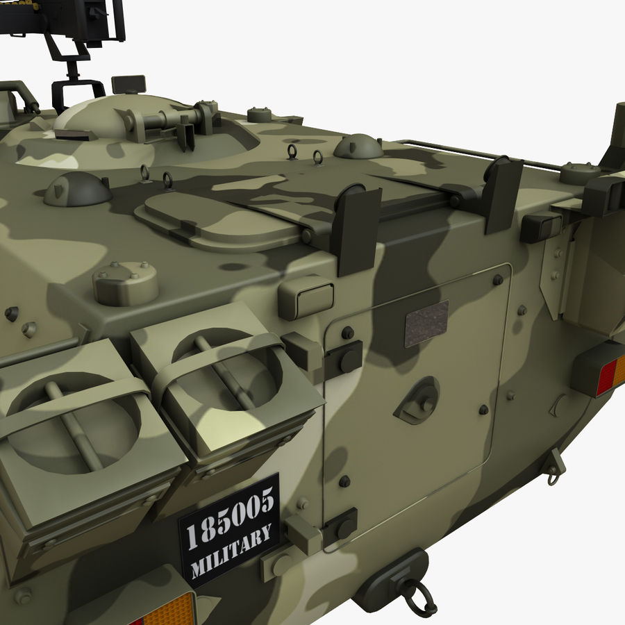 Puma 6x6 Armored Fighting Vehicle royalty-free 3d model - Preview no. 16