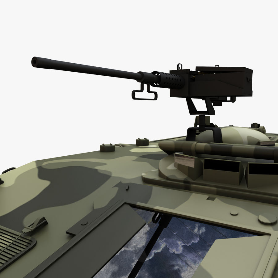 Puma 6x6 Armored Fighting Vehicle royalty-free 3d model - Preview no. 12