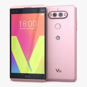 LG V20 Różowy 3d model