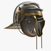 Casque de centurion romain 3d model