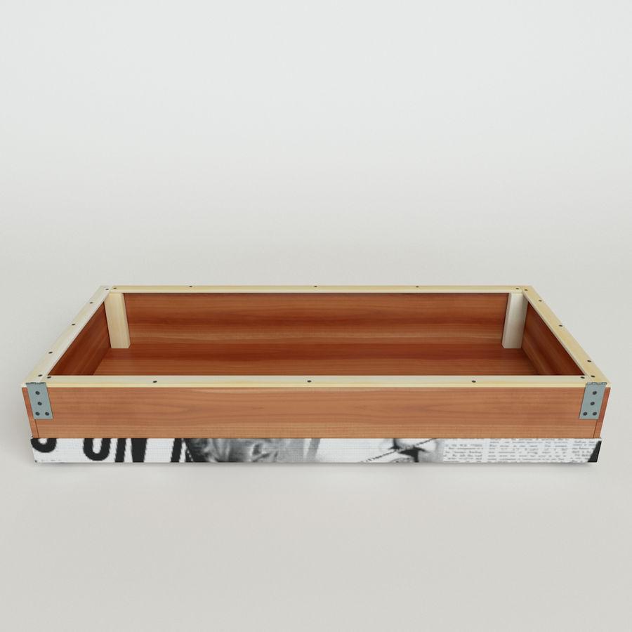 Sofá-cama Riviera Couro royalty-free 3d model - Preview no. 15