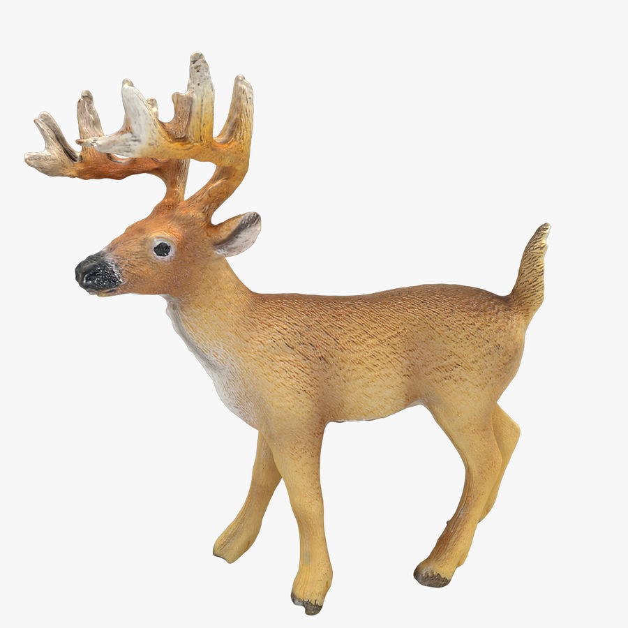 Cerf royalty-free 3d model - Preview no. 1