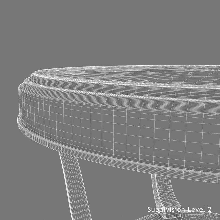Środkowy stół royalty-free 3d model - Preview no. 17