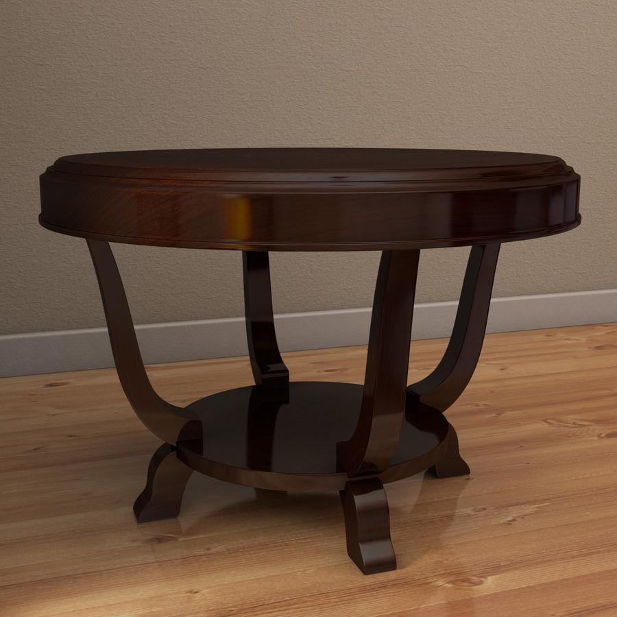 Środkowy stół royalty-free 3d model - Preview no. 2