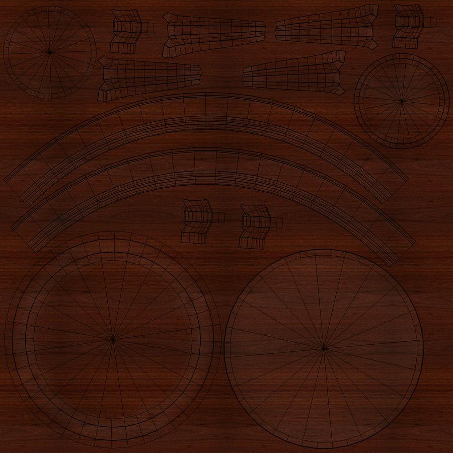 Środkowy stół royalty-free 3d model - Preview no. 21