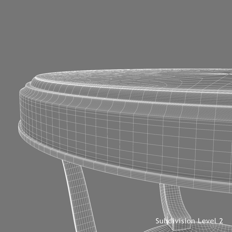 Le centre de la table royalty-free 3d model - Preview no. 17