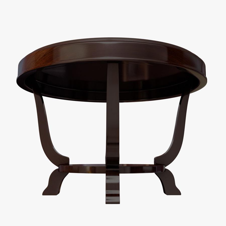 Środkowy stół royalty-free 3d model - Preview no. 6