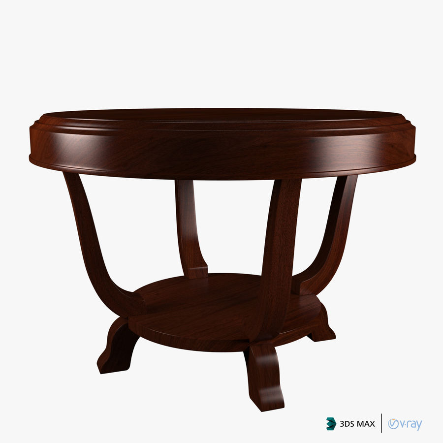 Le centre de la table royalty-free 3d model - Preview no. 8
