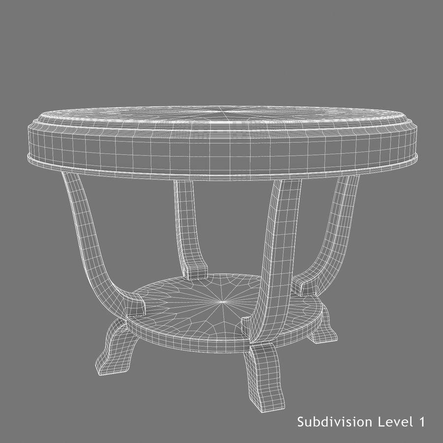 Środkowy stół royalty-free 3d model - Preview no. 10