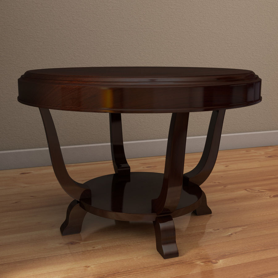 Le centre de la table royalty-free 3d model - Preview no. 2