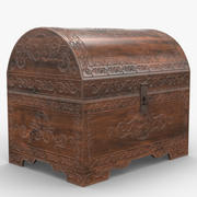 Carved Chest 3d model